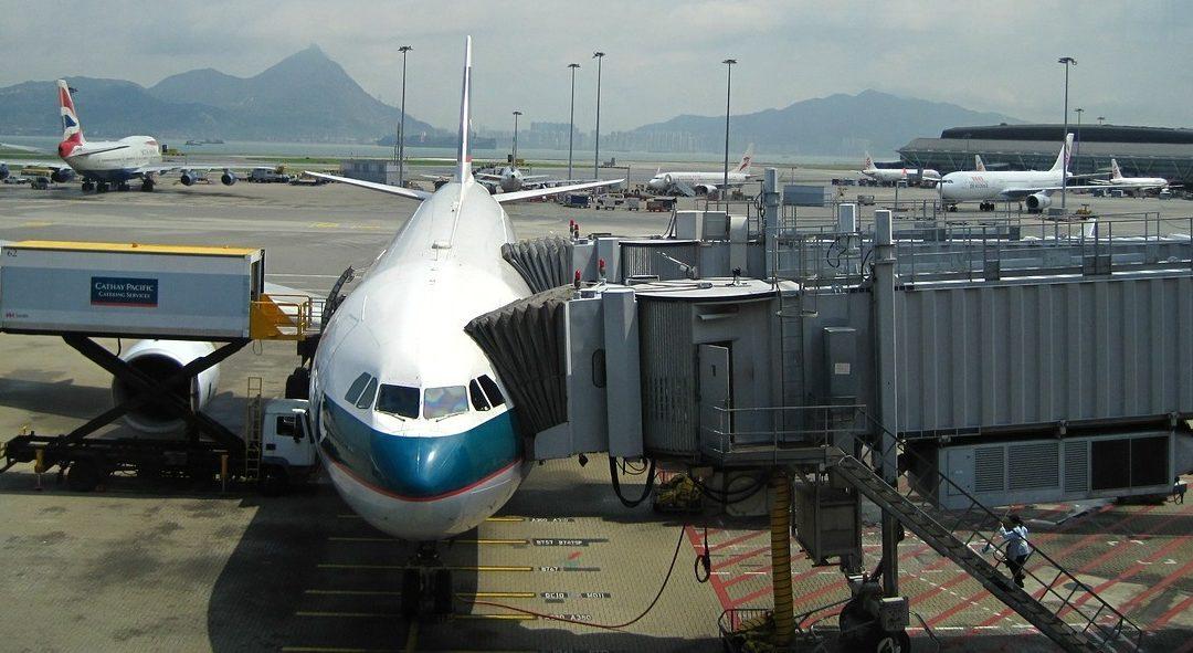 Flug nach Hong Kong