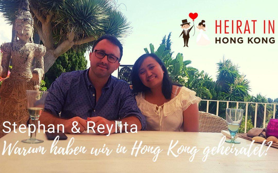 Warum haben wir in Hong Kong geheiratet?