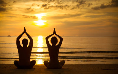 Yoga in den Flitterwochen